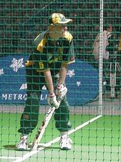 Andy playing his last World Cup,Wellington, NZ, 2002